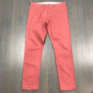 J.Crew Essential 484 Nantucket Red Chino P…